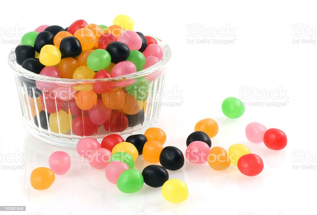 Jellybeans. stock photo