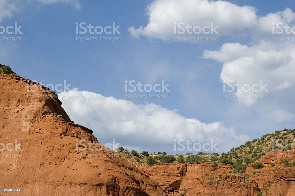 Jemez Mesa (Horizontal) stock photo