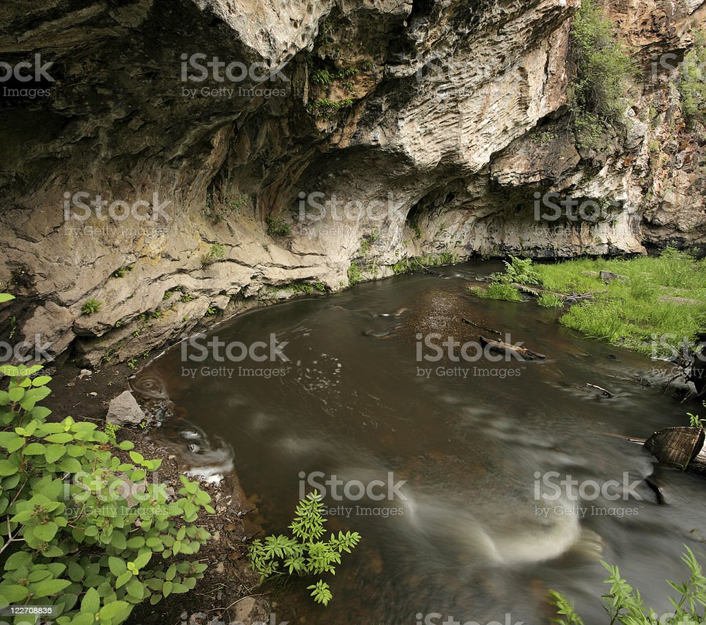 Jemez River stock photo