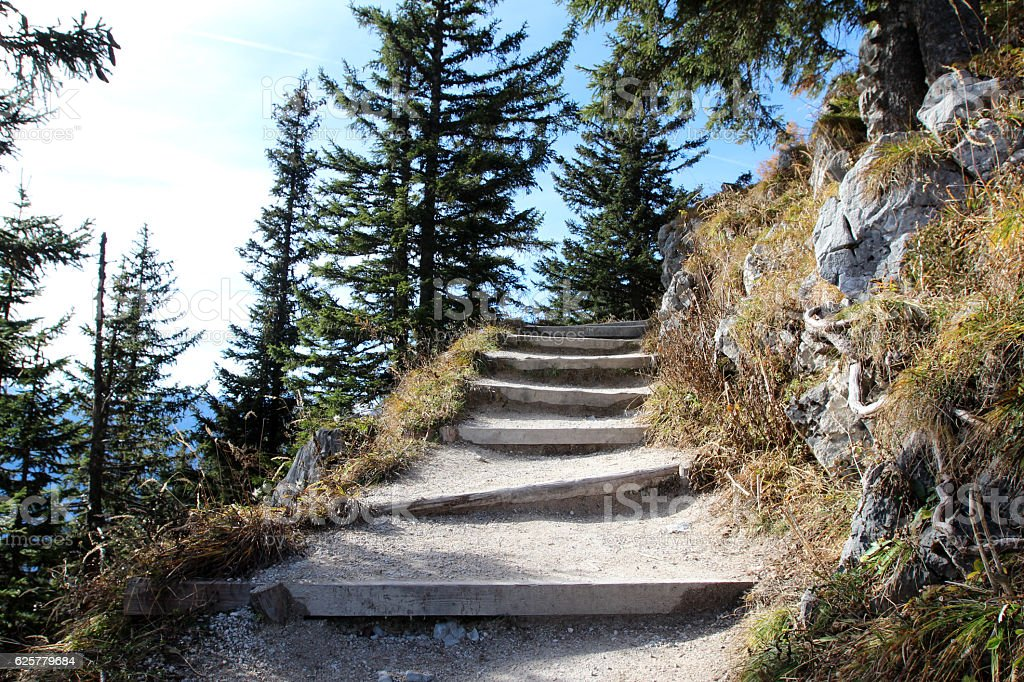 Jenner (mountain) stock photo