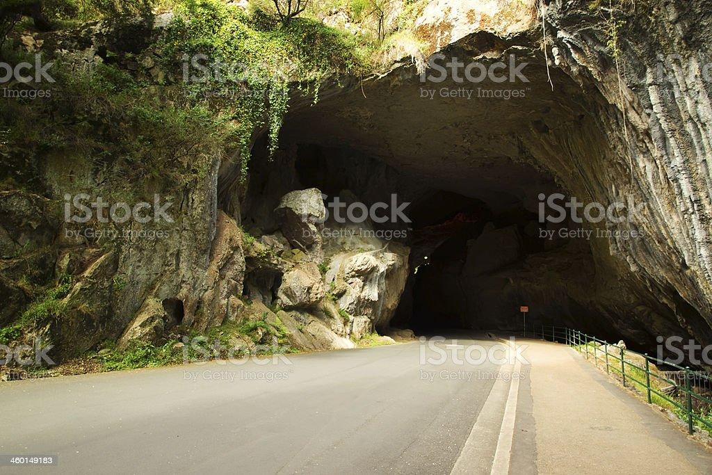 Jenolan Caves - Grand Arch stock photo