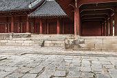 Jeongjeon - the main hall of the Jongmyo Shrine, Seoul