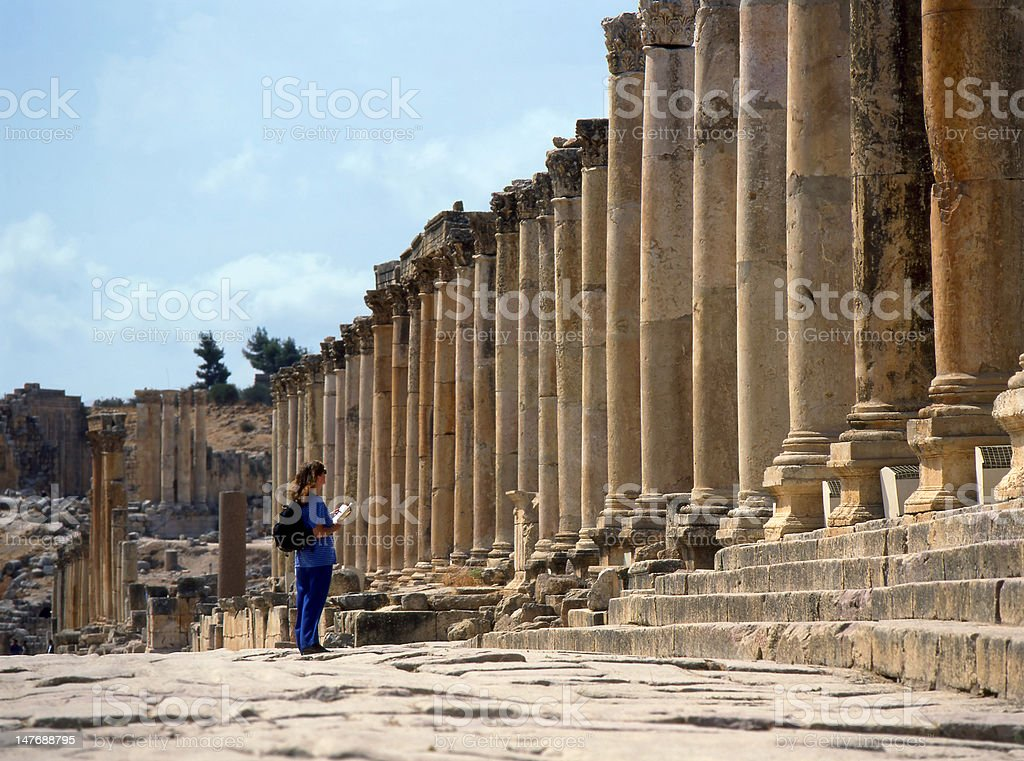 Jerash, Jordan. stock photo