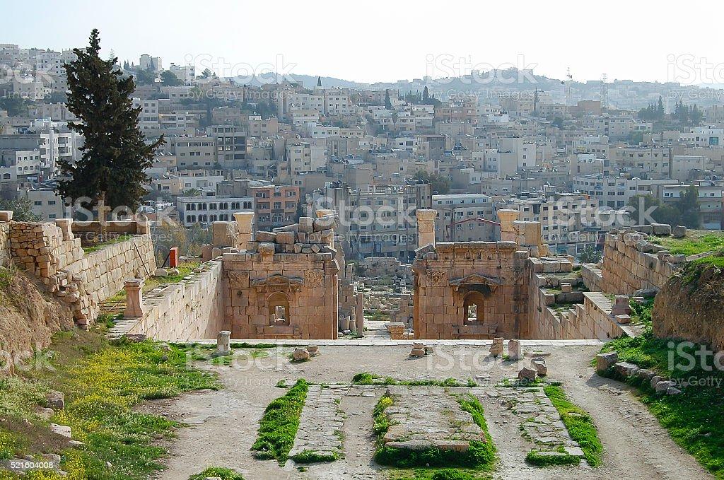 Jerash Ruins - Amman - Jordan stock photo