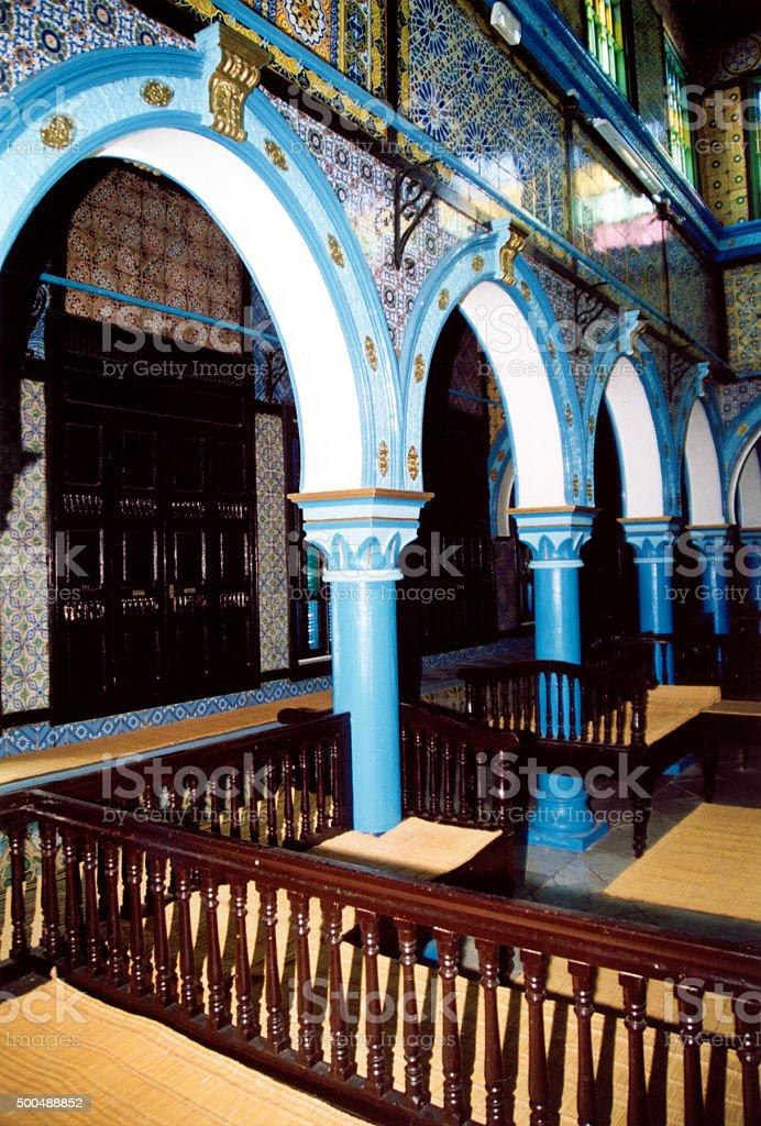 Jerba synagogue , Tunisia stock photo