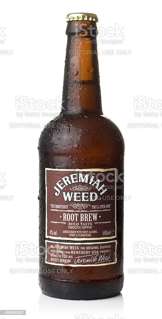 Jeremiah Weed Root Brew stock photo