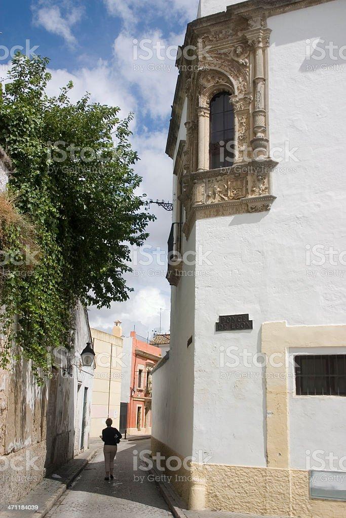 Jerez Back Streets stock photo