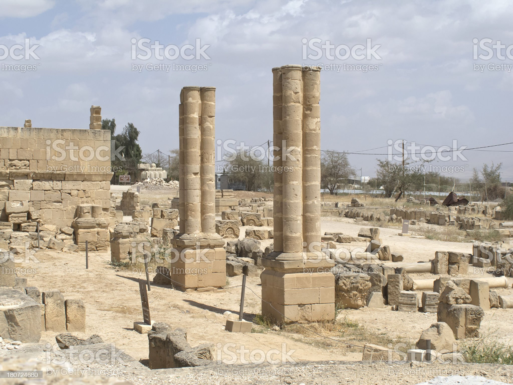 Jericho ancient City royalty-free stock photo