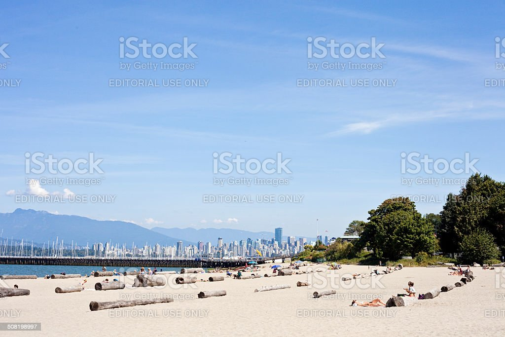 Jericho Beach - Vancouver stock photo