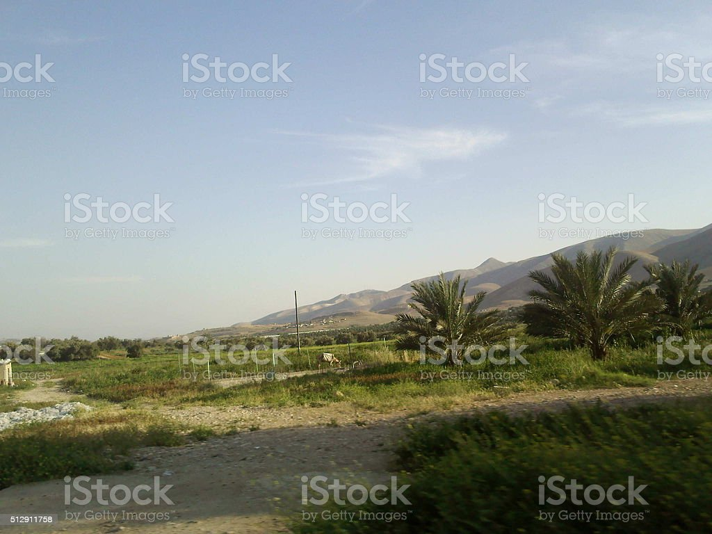 Jericho City stock photo
