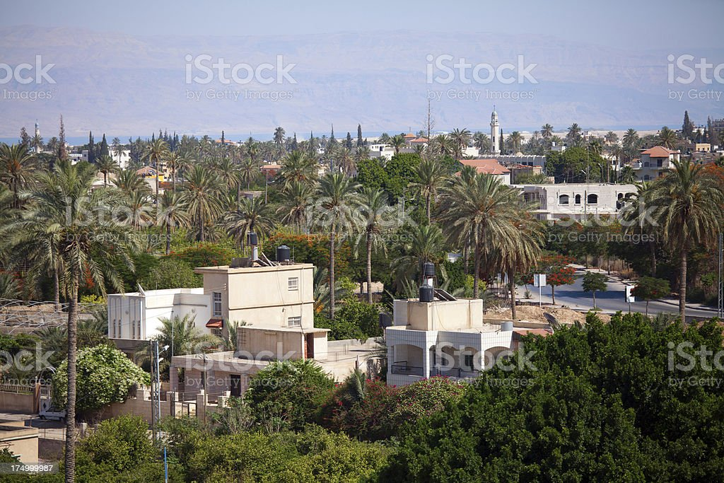 Jericho, Palestine stock photo