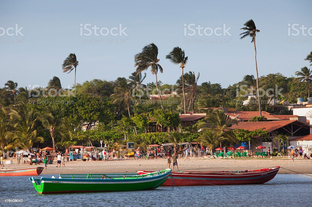 Jericoacoara Beach, Brazil stock photo