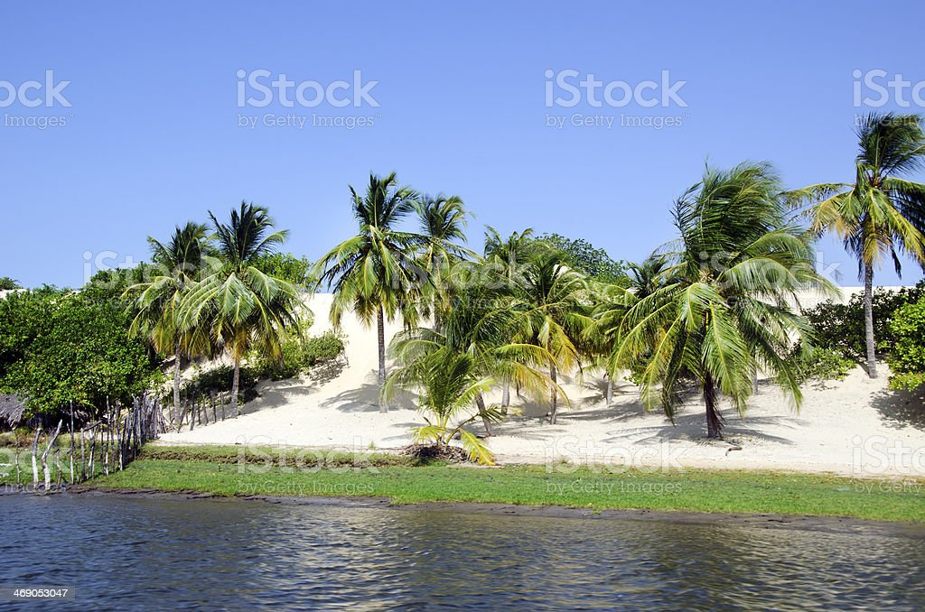 Jericoacoara in Brazil stock photo