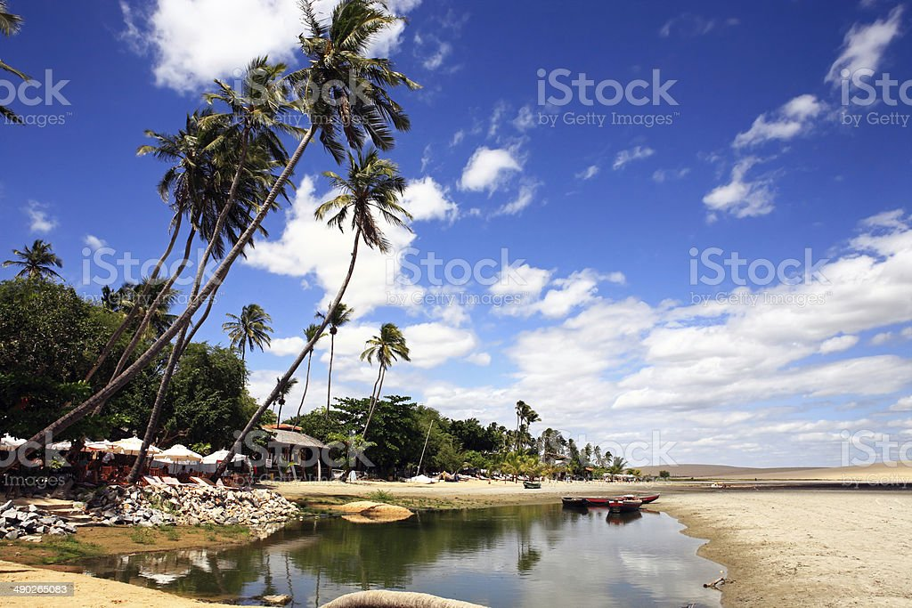Jericoacoara stock photo