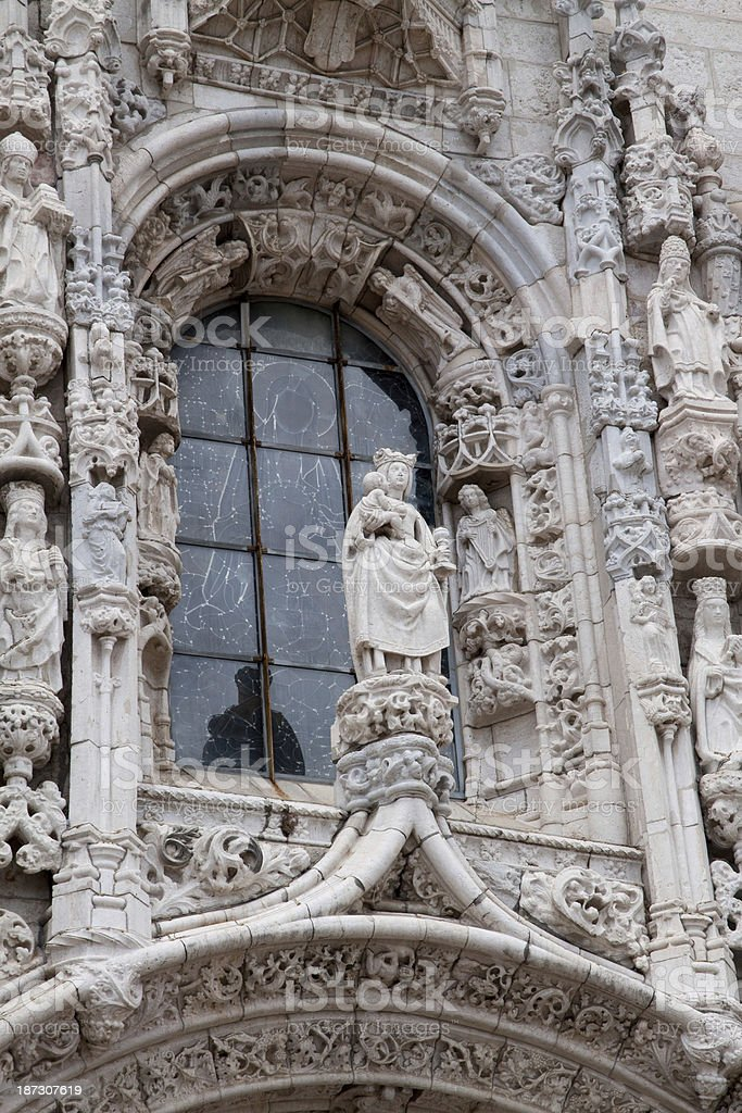 Jer?nimos Monastery, Lisbon royalty-free stock photo