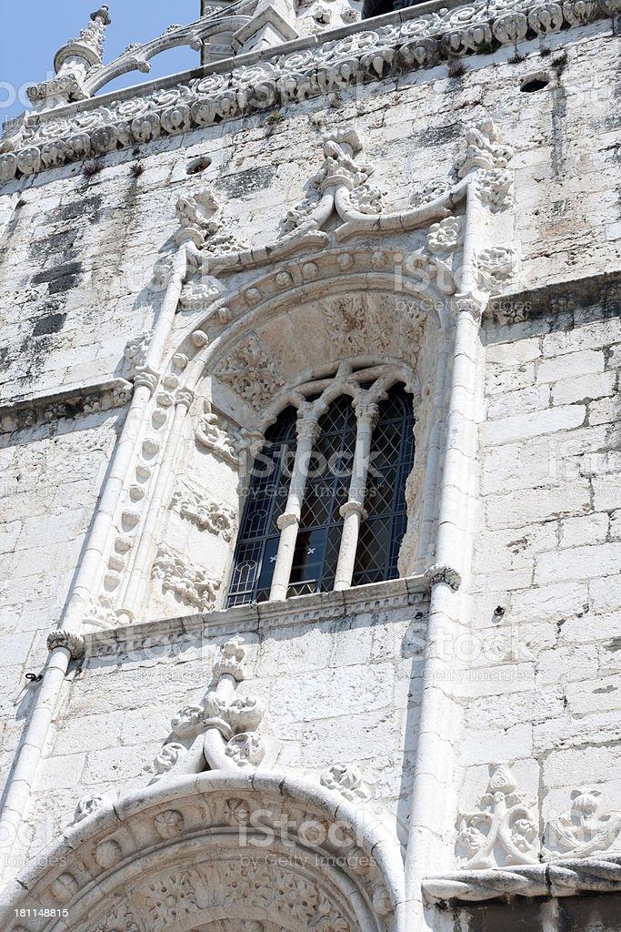 Jer?nimos Monastery royalty-free stock photo