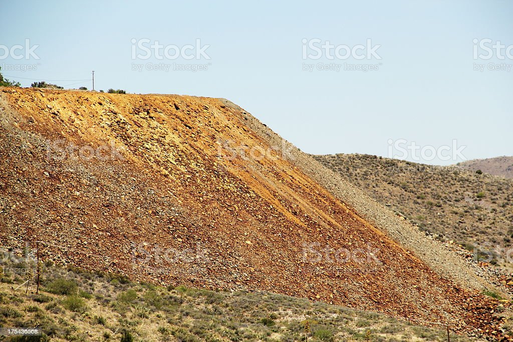 Jerome Arizona Mining royalty-free stock photo