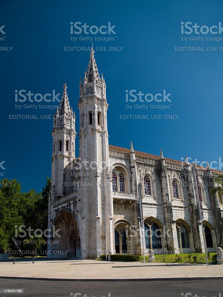 Jeronimos monastery - Lisbon stock photo