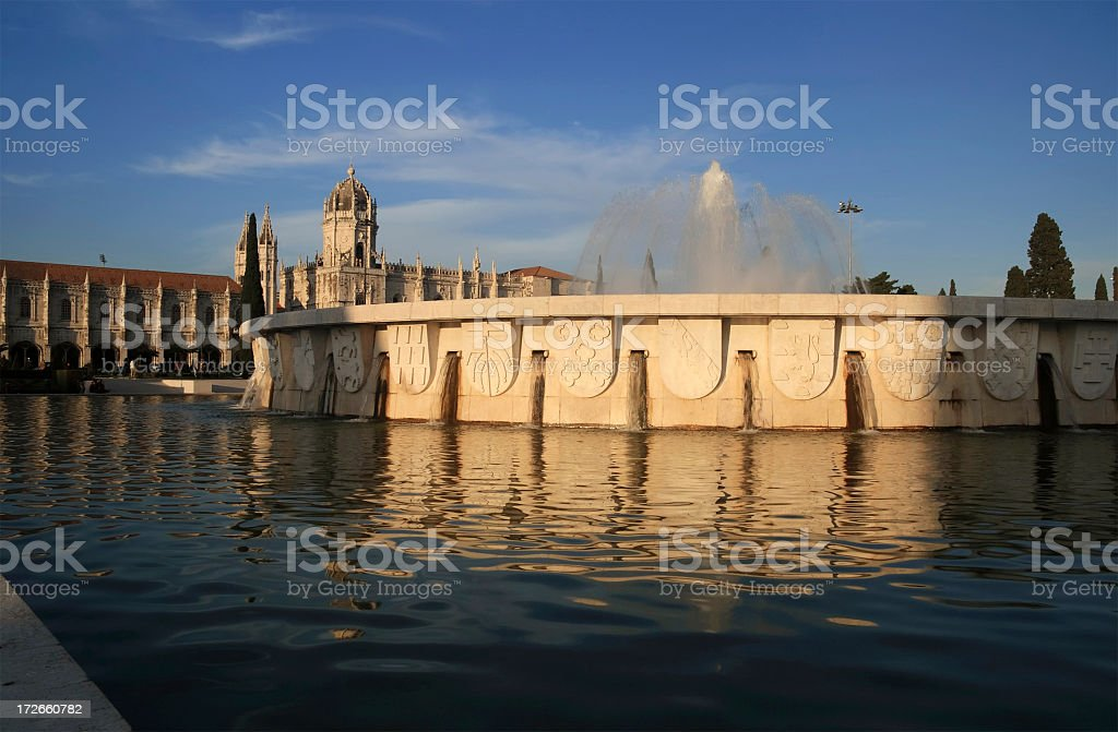 Jeronimos Monastery royalty-free stock photo