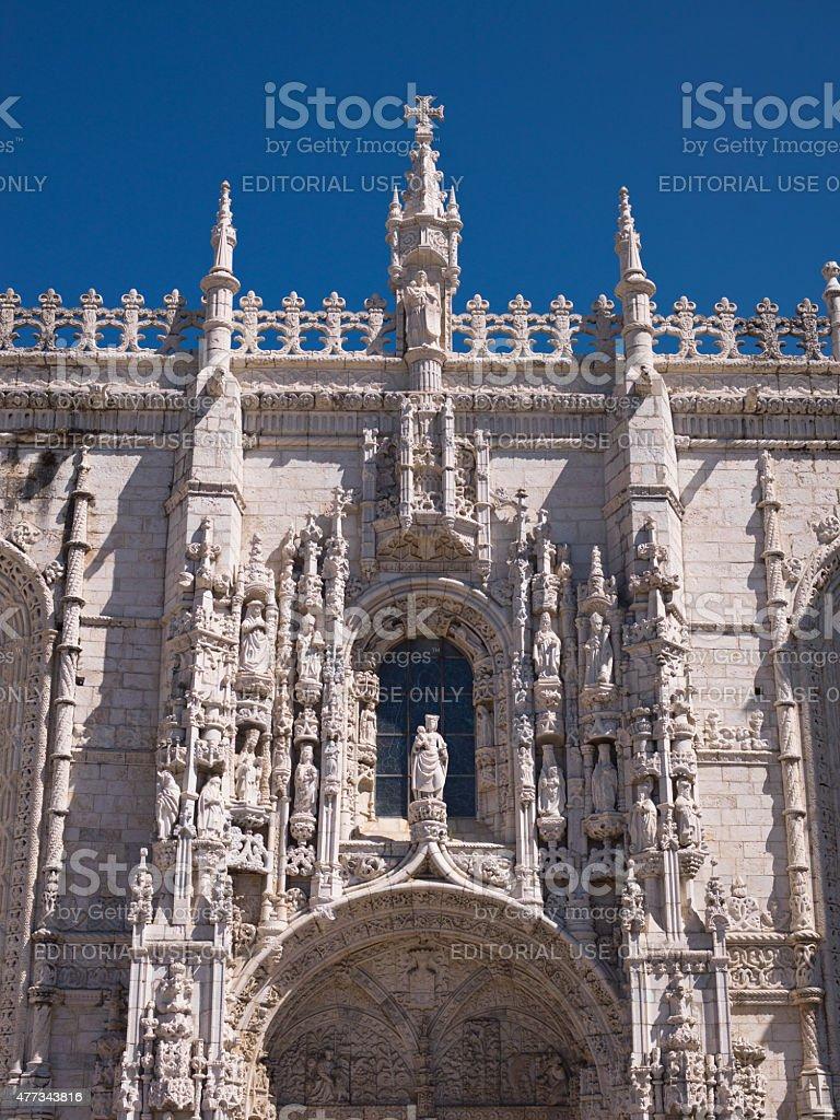 Jeronimos Monastery - Portugal stock photo