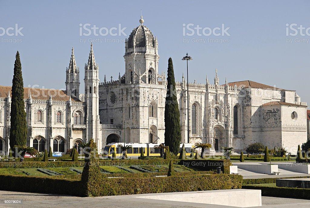 Jeronimos Monastery, Portugal. royalty-free stock photo