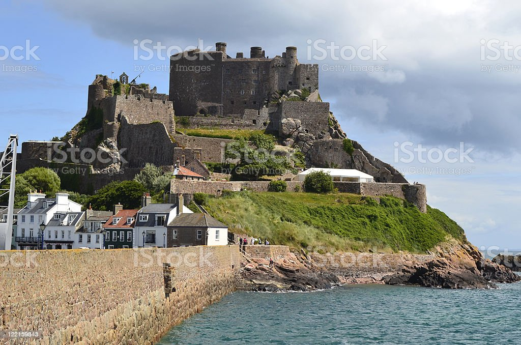 Jersey, British Channel Island stock photo