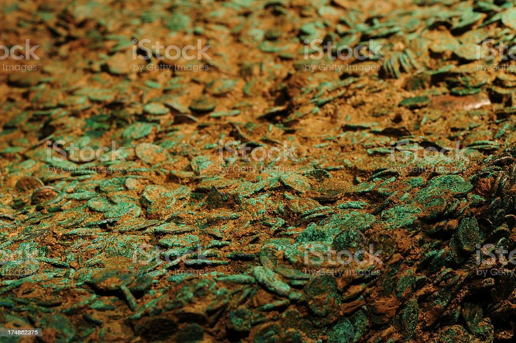Jersey Hoard. royalty-free stock photo