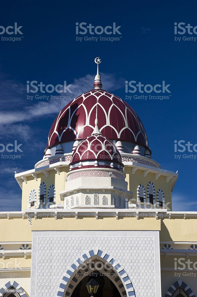 Jerteh Mosque royalty-free stock photo