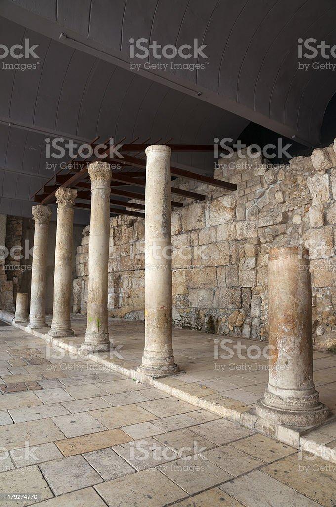 Jerusalem Cardo royalty-free stock photo