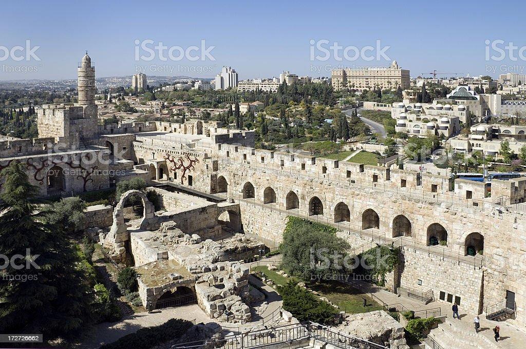 Jerusalem City View stock photo