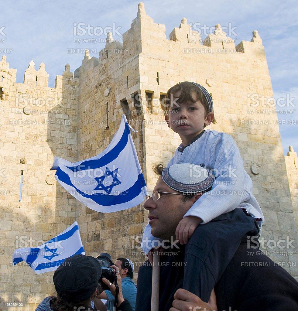 Jerusalem day royalty-free stock photo