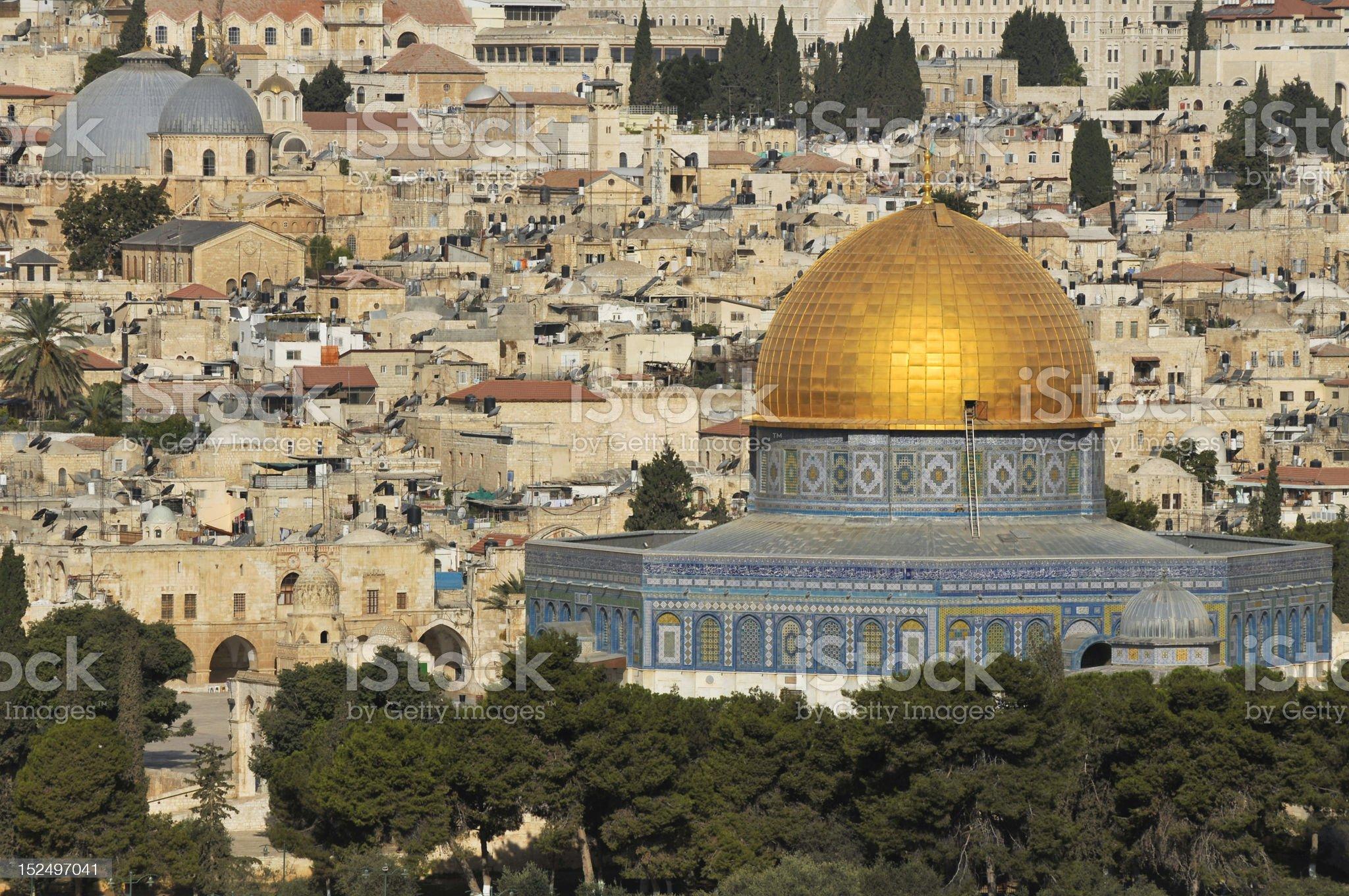 Jerusalem - Dome of the Rock royalty-free stock photo