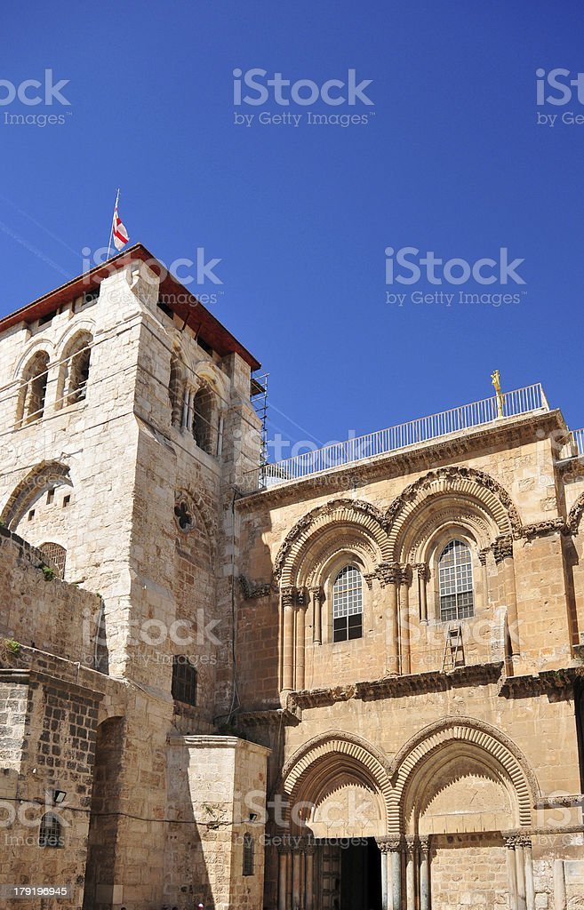Jerusalem, Israel: Church of the Holy Sepulcher stock photo