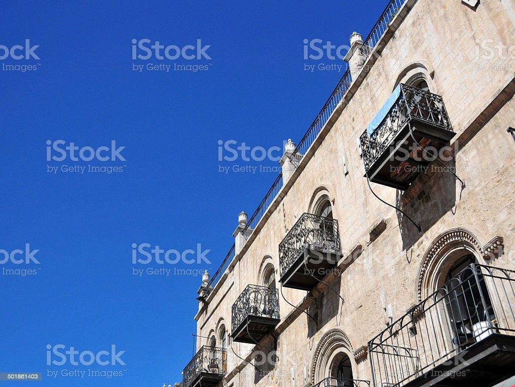 Jerusalem, Israel: old fa?ade stock photo