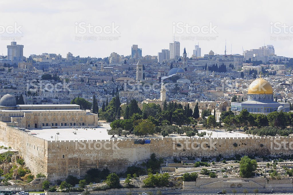 Jerusalem, Israel royalty-free stock photo