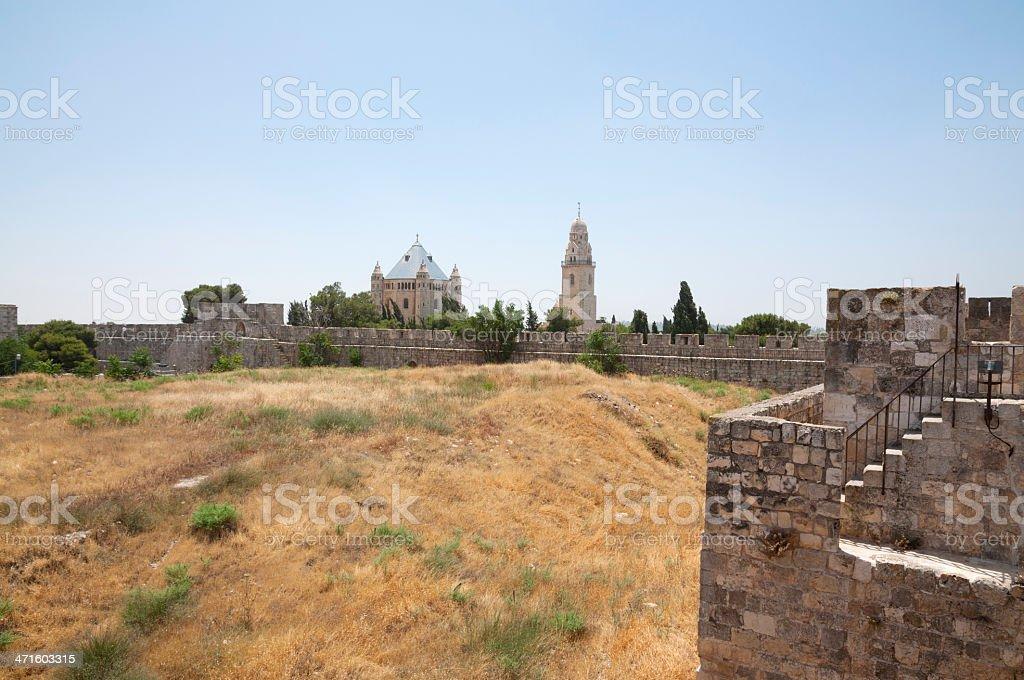 Jerusalem, Mount Zion royalty-free stock photo