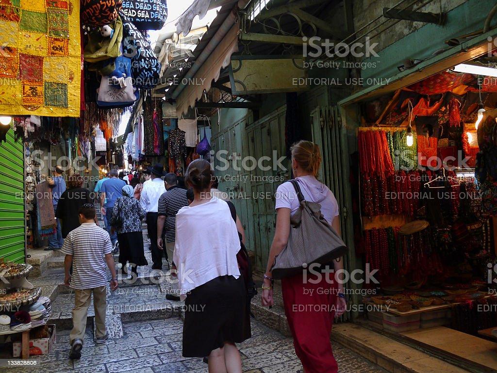 Jerusalem, Old City stock photo