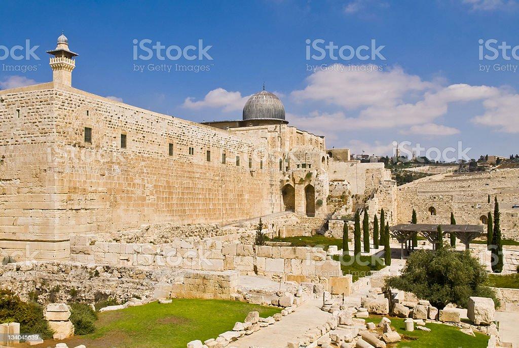 エルサレム旧市街 ロイヤリティフリーストックフォト