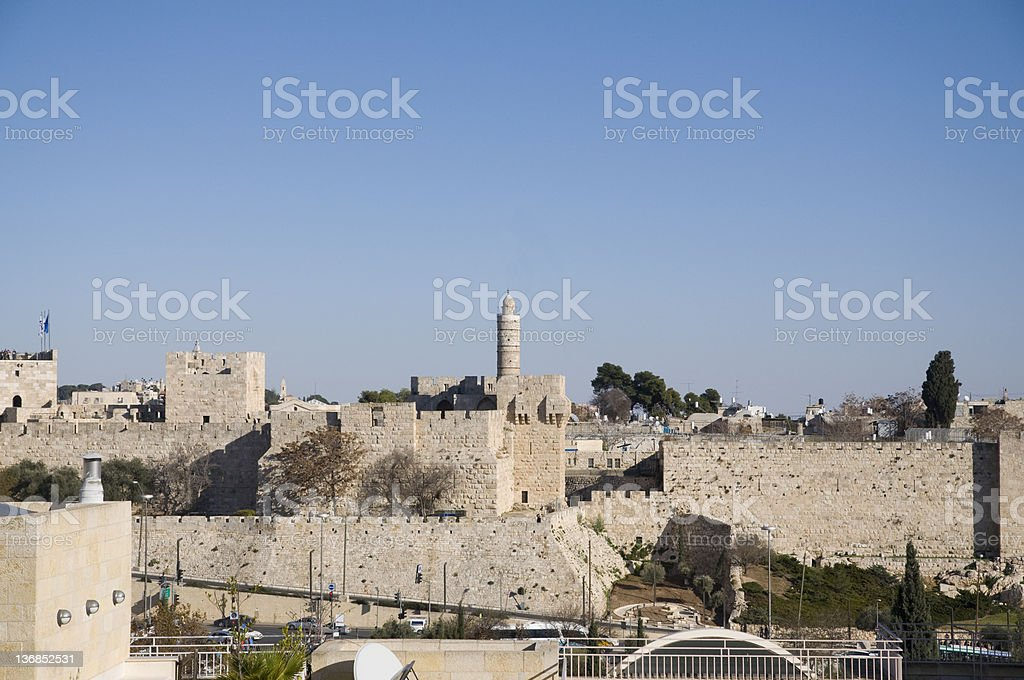 Jerusalem old city royalty-free stock photo