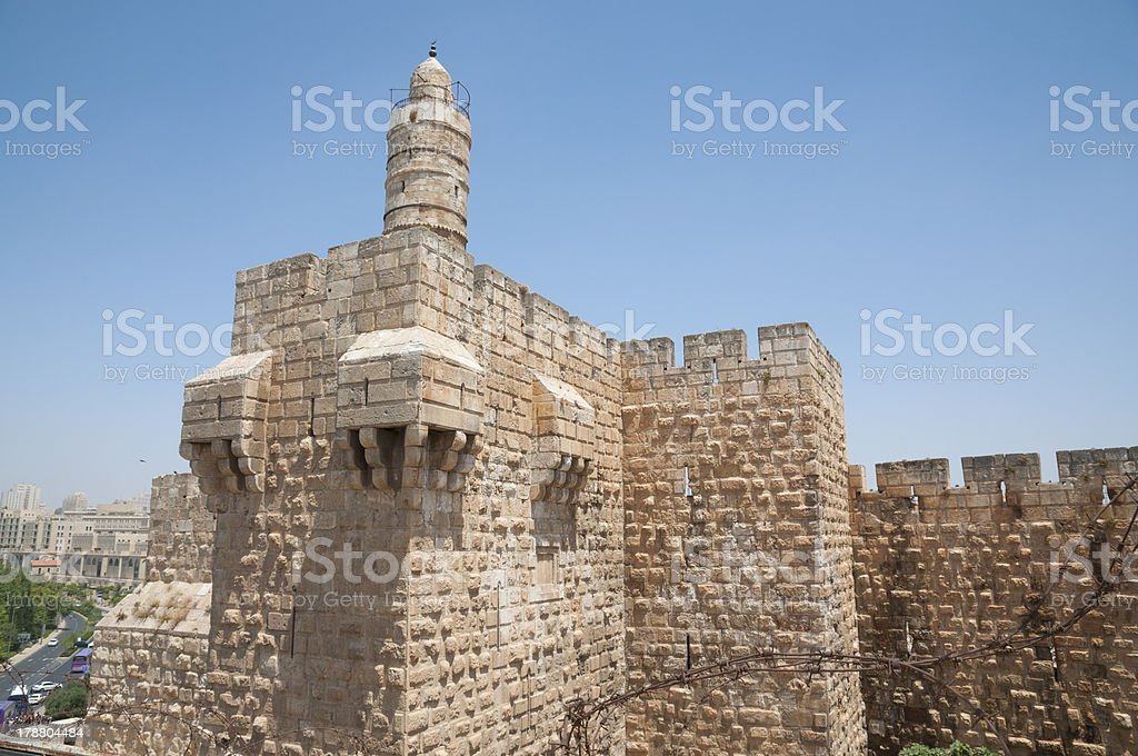 Jerusalem old city royalty-free stock photo