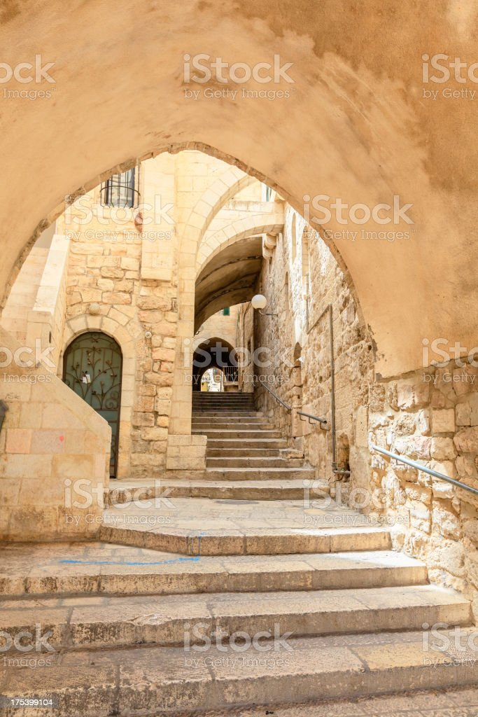 Jerusalem, Old Town royalty-free stock photo