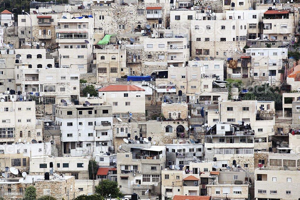 Jerusalem Outskirts stock photo