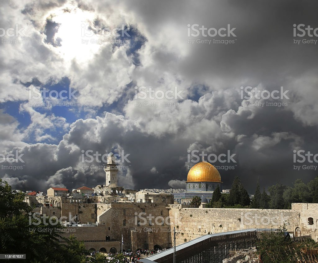 Jerusalem. stock photo
