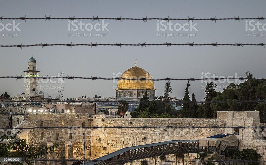 jerusalem protected stock photo