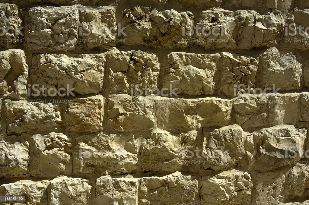 Jerusalem stone royalty-free stock photo