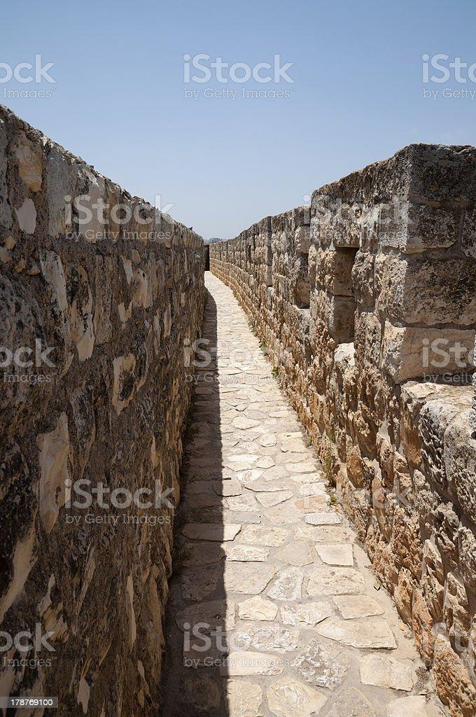 Jerusalem Surrounding walls royalty-free stock photo