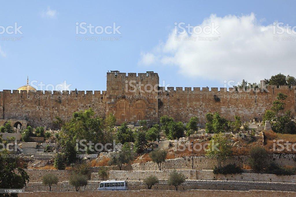 Jerusalem. The Golden Gate royalty-free stock photo