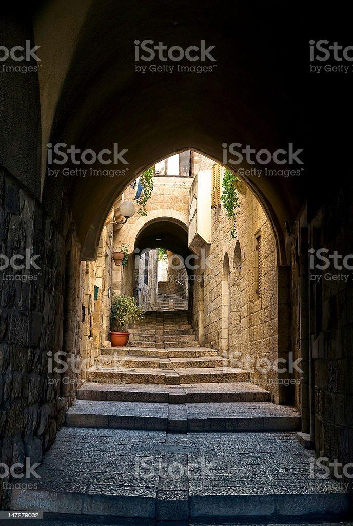 Jerusalem, the old cite royalty-free stock photo