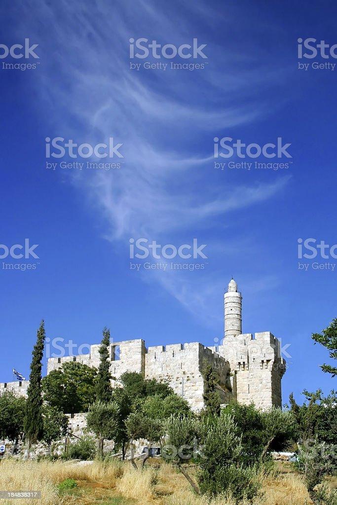 Jerusalem, Tower of David royalty-free stock photo