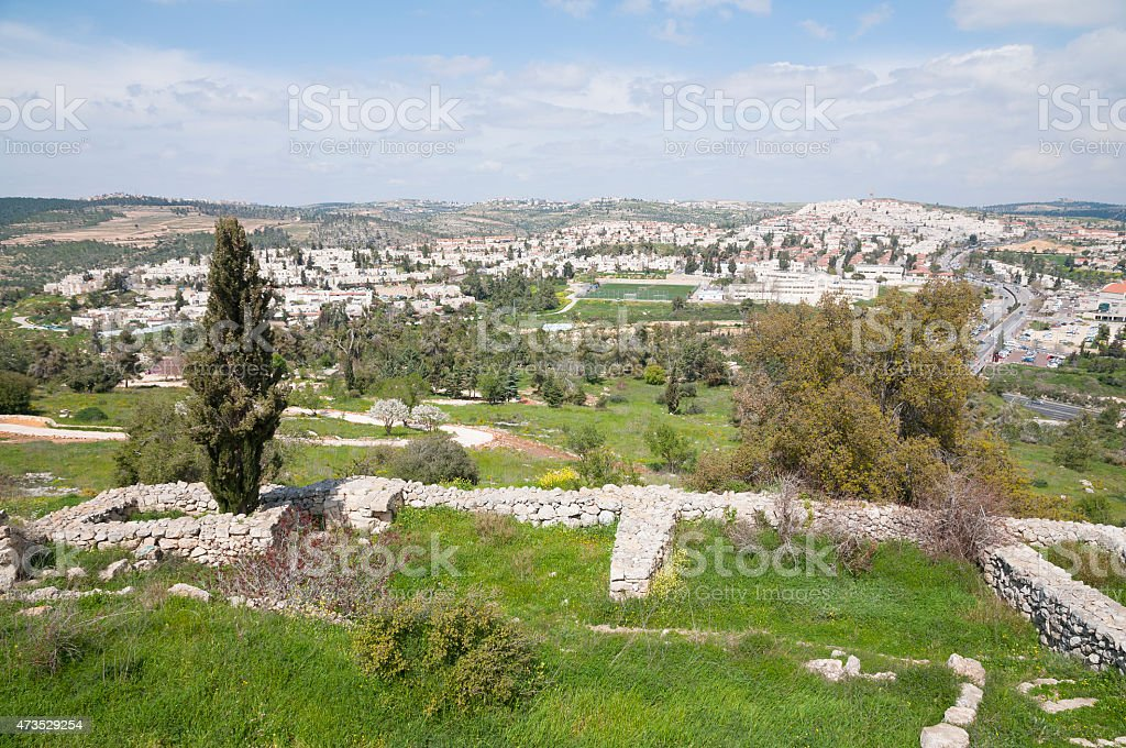 Jerusalem view stock photo